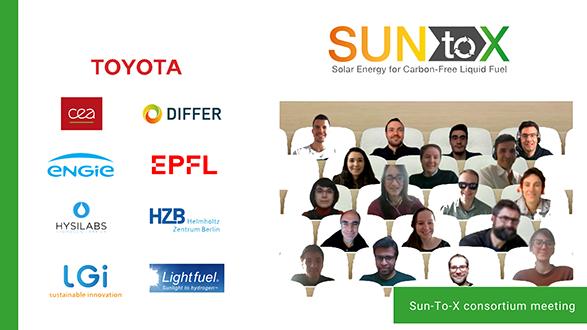 Sun-To-X 1st consortium meeting